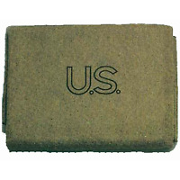 Military Outdoor Clothing U.S. Style Wool 3-Pound Military Blanket