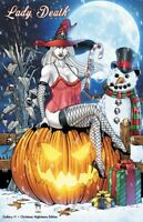 "Lady Death Gallery #1 ""Christmas Nightmare""    Ltd. Ed. 100   Comic Book"