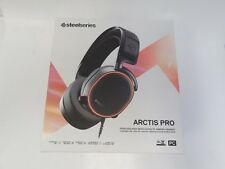 SteelSeries Arctis Pro Gaming Headset with Microphone - Black
