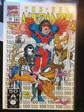 The New Mutants #100 (Apr 1991, Marvel) 1st App. of X-Force NM Silver 3rd Print