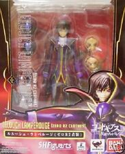 New Bandai S.H.Figuarts Code Geass Lelouch Lamperouge Zero R2 Costume From Japan