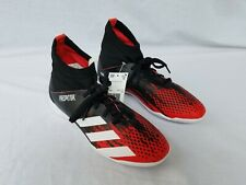New Kids Adidas Predator 20.3 IC Indoor Soccor Shoes Black with White & Red