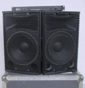 2 x Meyer Sound UPA-1C, mit 1 x M1A Mono Controller