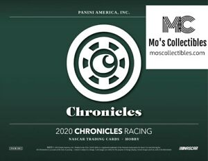 2020 Chronicles Racing 16 Box  Case Break Shepard Bill Elliott Allison Jarrett
