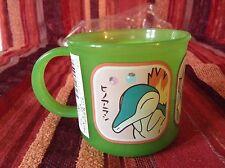 Pokemon plastic mug from Japan with Cyndaquil/Chikorita/Totodile - never used!