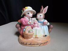 Avon Precious Moments Which Shade Do You Prefer? Figure Sales Bunny Rep Easter