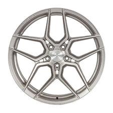"""20"""" Rohana Rfx11 20x9 Brushed Titanium Concave Wheels for Bmw E63 E64 6-Series"""