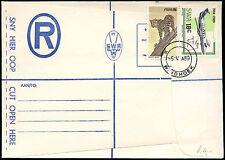 South West Africa 1989 Registered Stationery Letter Cover Winhoek #C17063