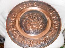 Kupferbild ,Das letzte Abendmahl ,Kupfer,Kunst,Gemälde,Religion,Wandteller