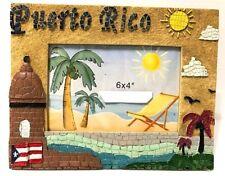 PUERTO RICO GARITA OLD SAN JUAN TABLE PHOTO FRAME GIFT SOUVENIRS pictures 6x4
