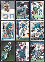 Detroit Lions HOF Barry Sanders 1990's Score Upper Deck NFL Pro Set Card Lot