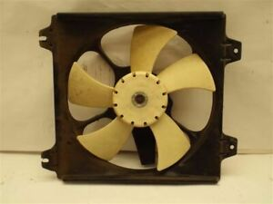 Radiator Fan Motor Fan Assembly Condenser With Turbo Fits 95-99 ECLIPSE 223693