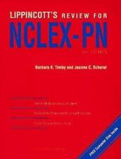 Lippincott's State Board Review for NCLEXPN by Barbara Kuhn Timby (1994,...