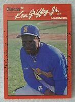1990 Donruss KEN GRIFFEY JR HOF- ERROR CARD-No Period After Inc VERY RARE!*1