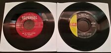 Lot of 2 Imperial Label Records 45RPM (Used)