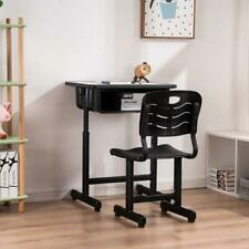 Popular School Student Desk and Chair Set Adjustable Child Study Furniture NEW