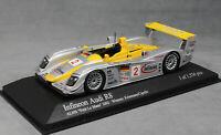 Minichamps Audi R8 Petit Le Mans Winner 2002 Capello & Kristensen 400021382 1/43