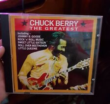 Chuck Berry The Greatest  - MUSIC CD - FREE POST