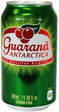 Guarana Antarctica (Brazilian Soda) pack with 12 cans