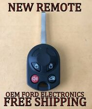 NEW W/ OEM ELECTRONICS FORD TRANSIT CONNECT 80 BIT KEYLESS REMOTE HEAD FOB