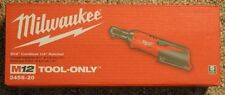 "BRAND New Milwaukee 2456-20 M12 12 Volt 1/4""Cordless Drive Ratchet  (Tool only)"