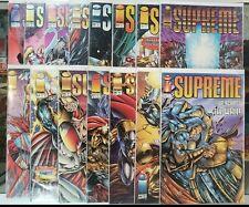 Supreme #15 - 34 (Set of 15 comics) Image - 1994-1995 Vf / Vf+ @