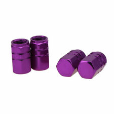 Tire Wheel Rims Stem Tyre Cover Air Valve Cap Car SUV Bike Aluminum Styly Purple