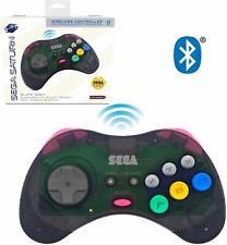 Retro-Bit Sega Saturn Bluetooth Controller 8-Button for Switch, PC - Slate Grey