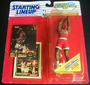 1993 Michael Jordan Chicago Bulls Packaged Starting Lineup SLU NBA Basketball