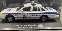 New-Ray Italia - 1:43 Ford Crown Victoria, Milizia Mockba 1998 Russia Sealed MIB