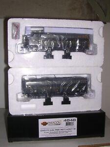 B.L.I. #4848 P.R.R. EMD F7A&B Diesel Locos #9671A&B w/DCC & Par.3 Sound 1/87