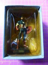 CAPTAIN AMERICA Eaglemoss MARVEL CLASSIC COLLECTION Figurine Lead Model box 2005
