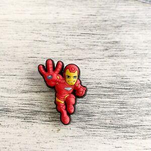 Iron Man Jibbit decorative  accessory plug Charm For Clog Shoes