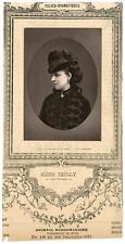 Lemercier, Paris, actrice, Folies-Dramatiques, Aline Prelly Vintage Print, vinta