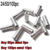 50pcs ID 4.2//6.2mm Arrow Nocks Tails For Insert Pins Plastic Size L Bow Hunting
