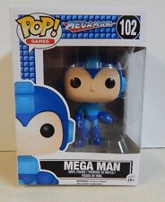 Funko POP! Games Megaman #102 NEW!! Boxes all have water damage OOB only