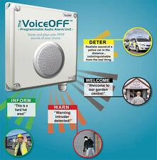 Digiguard ® L4K Sensor PIR-voiceoff activado sistema de alerta de intruso alarma audio