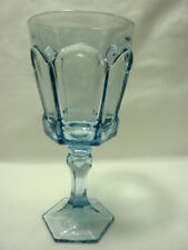 Fostoria Virginia Light Blue Water Goblet
