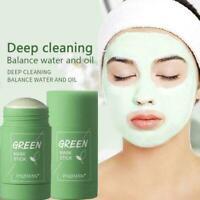 Green-Tea Oil-Control Acne Blackhead Cleansing Mask Pores Mud Fine J0U7