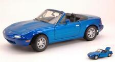 Mazda Mx-5 Miata Blue Met.1:24 MotorMax MTM73262BL