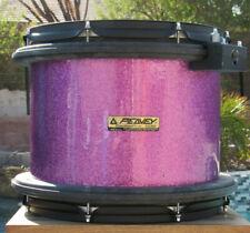 Peavey Purple Sparkle Wrapped Radial Pro 500 14� Diameter 12� Deep Floor Tom/Tom