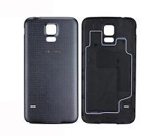 Original Samsung Galaxy S5 G900F Akkudeckel Akku Deckel Back Cover Schwarz