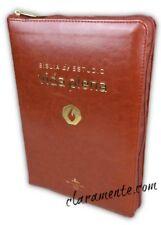Biblia de Estudio Vida Plena con Cierre RVR 1960 imitacion piel cafe con indice
