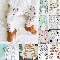 enfant bébé nouveau-né bas pantalon Dessin Animé Garçon Fille Harem legging