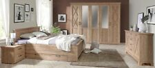 Schlafzimmer Komplettset Nepal Schrank Bett 180x200cm Landhaus Bramberg Fichte