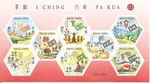 MACAO-CHINA-2003-I CHING PA KUA-III-MINI SHEET - 8 stamps-