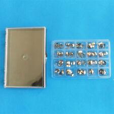 80PCS Dental Orthodontic Bands kit  buccal tube Roth Bands #16-35