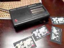 Sony ICF-SW800 FM SW 2 Band PLL Synthesized SW. R Receiver. MISSING POWER BUTTON