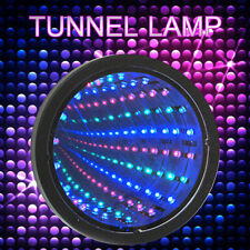 Sensory Infinity Mirror LED Light Autism Tunnel Wall Relaxing Calm Desk Lamp ABS