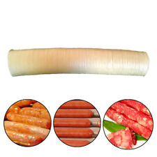 14m 26mm Natural Sheep Sausage Casings Skins Hot Dog Bbq Long Sausages Diy Tools